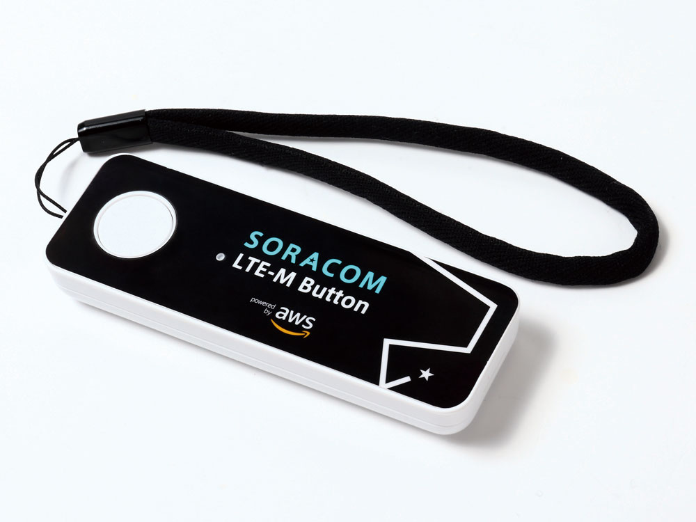 IoTボタン 仕様/スペック SORACOM LTE-M Button powered by AWS